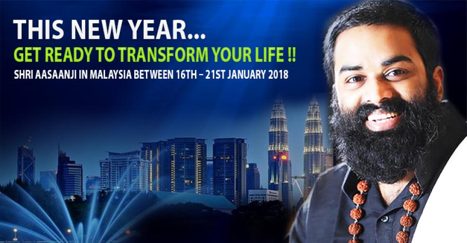 Shri Aasaanji in Malaysia-16th-21st JAN 2018